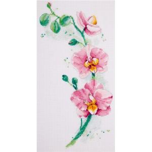 Cross Stitch Kit Orchid C-1887