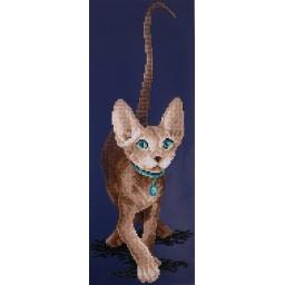 DIAMOND PAINTING KIT CAT SPHINX  ALVR-10 010