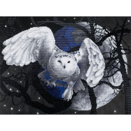 DIAMOND PAINTING KIT FLYING OWL ALVR-26019