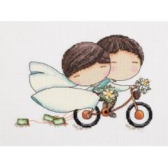 Cross Stitch Kit Honeymoon art. 8-216