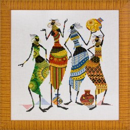 Cross Stitch Kit Africa NM-0739