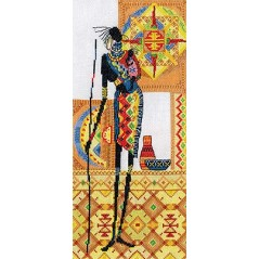 Cross Stitch Kit Africa NM-0741