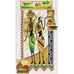 Cross Stitch Kit Africa NM-0740