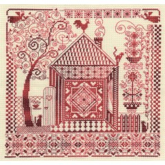 Cross Stitch Kit Hearth and Home SO-0886