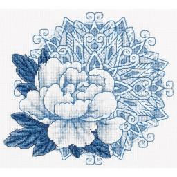 Cross Stitch Kit Marvellous Flower C-1957