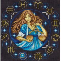 Cross Stitch Kit Zodiac signs. Libra ZN-0928