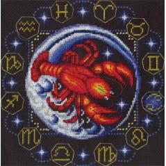 Cross Stitch Kit Zodiac signs. Cancer ZN-0925