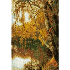 Cross Stitch Kit Autumn Has Come PS-0965
