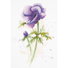 Cross Stitch Kit Anemone C-1966