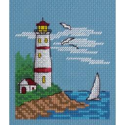 Cross Stitch Kit White Sail art. 8-244