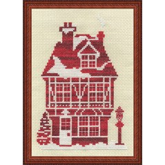 Cross Stitch Kit Ginger House D-0850