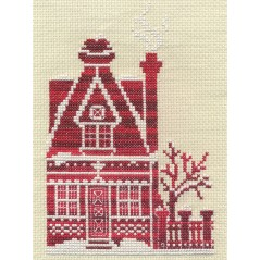 Cross Stitch Kit Honey Cottage D-0851