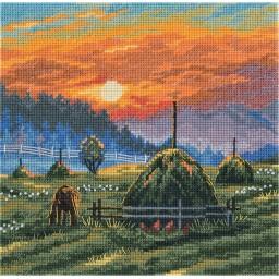 Cross Stitch Kit Summer Mist PS-7019