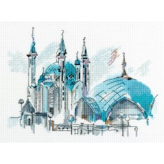 Cross Stitch Kit Qol Sharif MC-7026