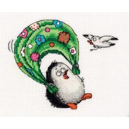 Cross Stitch Kit I'm flying art. 8-282