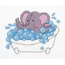 Cross Stitch Kit Little Elephant art. 8-305