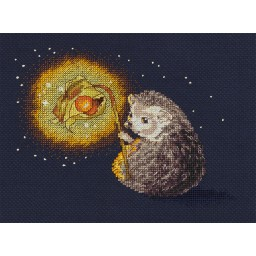 Cross Stitch Kit Hedgehog's Night Light art. 8-313