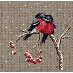 Cross Stitch Kit Winter Warmth art. 8-297