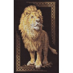 Cross Stitch Kit A Royal Individual (lion) J-1051