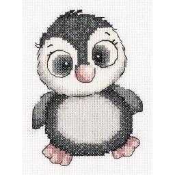 Cross Stitch Kit Kiki the Penguin art. 8-369