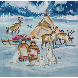 Cross Stitch Kit The Starry Country L-7057