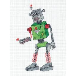 Cross Stitch Kit Robot art. 8-329