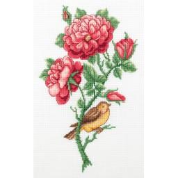 Cross Stitch Kit Persian rose art. 8-334