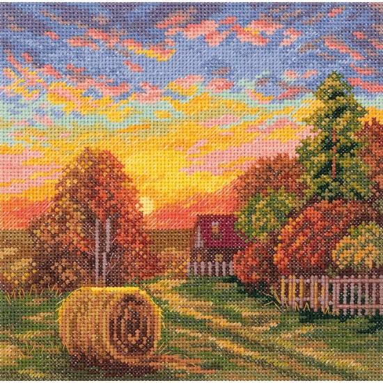 Cross Stitch Kit Autumn Dew PS-7151