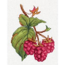 Cross Stitch Kit Raspberry art. 8-339