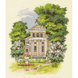 Cross Stitch Kit Manor House AS-7156