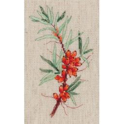 Cross Stitch Kit Sea Buck-thorn Sprig art. 8-359