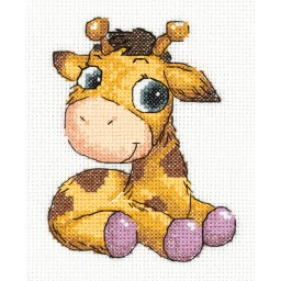 Cross Stitch Kit Jojo the Giraffe art. 8-362