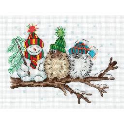 Cross Stitch Kit Among Friends art. 8-366