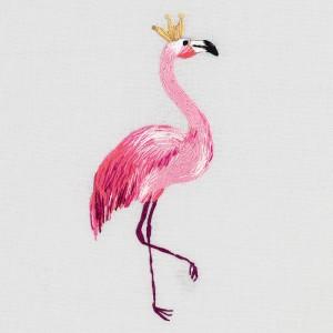 Embroidery Kit Flamingo JK-2178