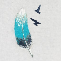 Embroidery Kit Feather JK-2180