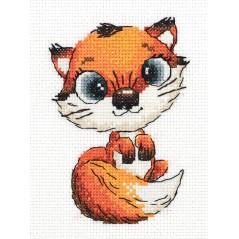 Cross Stitch Kit Abby the Fox art. 8-328