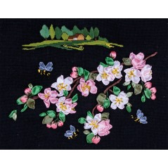 Embroidery Kit Apple Blossom PS-1081