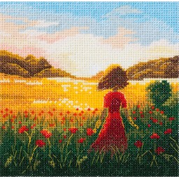 Cross Stitch Kit The Last Summer Day PS-7211