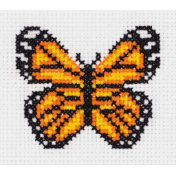 Cross Stitch Kit Little Butterfly art. 8-430