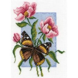 Cross Stitch Kit Butterfly B-0115