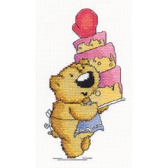 Cross Stitch Kit A Treat J-1222