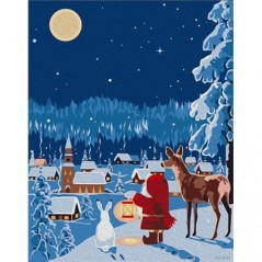 PAINT BY NUMBERS KIT CHRISTMAS EVE T16130053