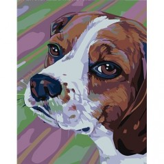 PAINTING BY NUMBERS BEAGLE T16130066