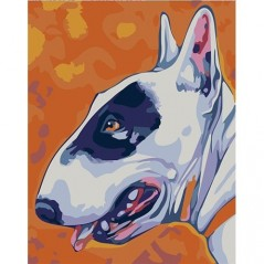 PAINTING BY NUMBERS BULL TERRIER T16130080