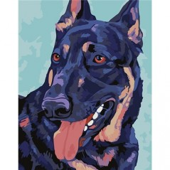 PAINTING BY NUMBERS DOBERMAN T16130081