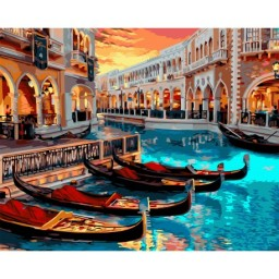 PAINT BY NUMBERS KIT VENICE 40X50 CM A141 Pre-order