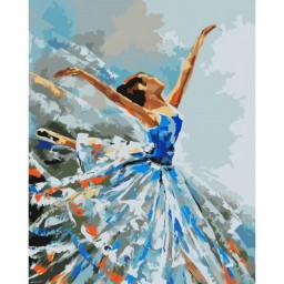 PAINTING BY NUMBERS KIT BALLERINA 40X50 CM J001 Pre-order