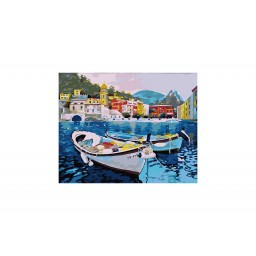 PAINT BY NUMBERS KIT SILENT COAST T40500104