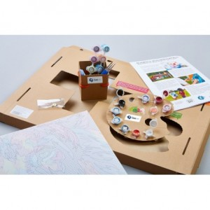 PAINT BY NUMBERS KIT FAIRY TREE 40X50 CM T40500196