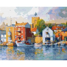 PAINT BY NUMBERS KIT WIVENHOE UK 40X50 CM T40500197